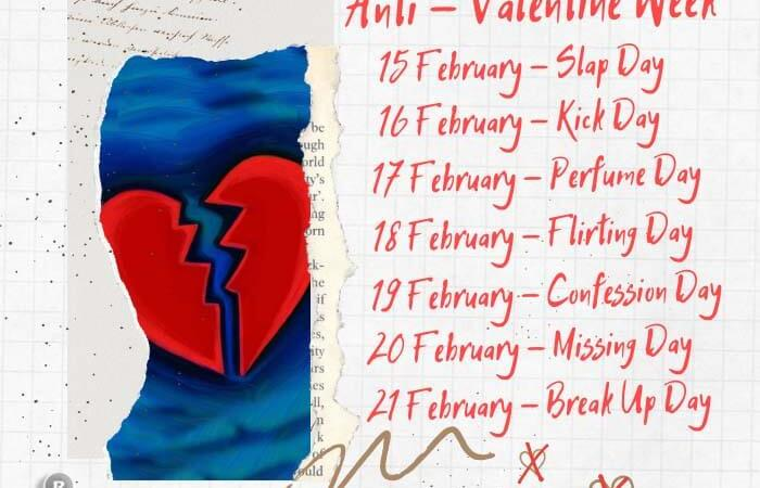 Anti Valentine's Week