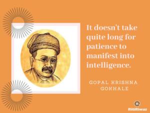 Gopal Krishna Gokhale quote