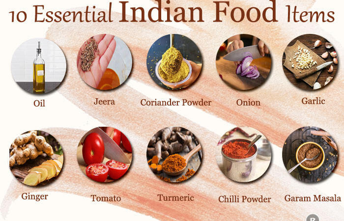 10 Essential Indian Food Items