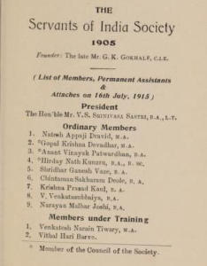 Servants of India Society