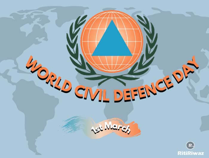 World Civil Defence Day – 1st March