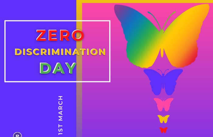 Zero Discrimination Day – 1st March