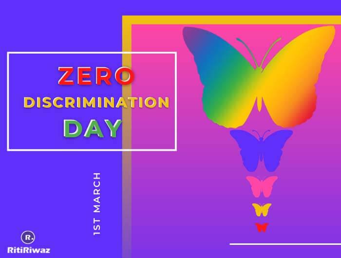 Zero Discrimination Day – 1st March
