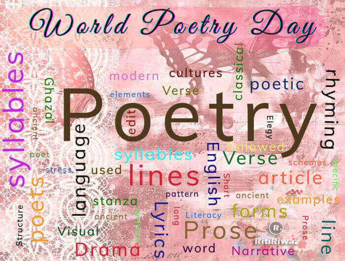 World Poetry Day – March 21st