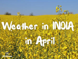 Weather in India in April