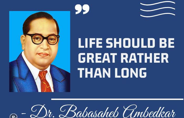 Bhimrao Ramji Ambedkar Quotes
