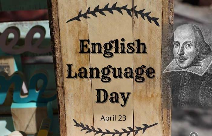 World English Language Day – 23 April