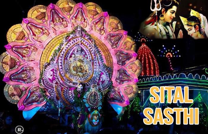 Sital Sasthi – Divine Shiva And Parvati Marriage