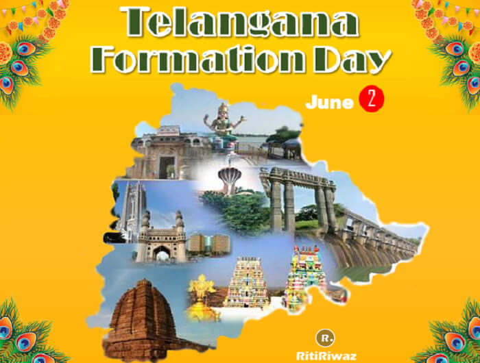 Telangana Formation Day – June 2nd
