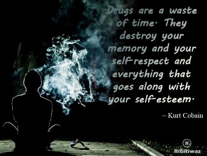 Anti drug quote
