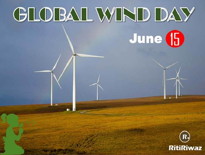 Global Wind Day – June 15th