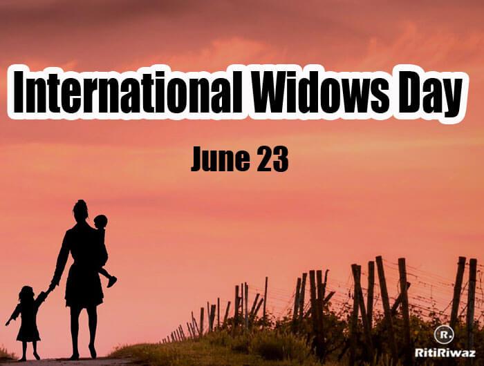 International Widows Day – June 23rd