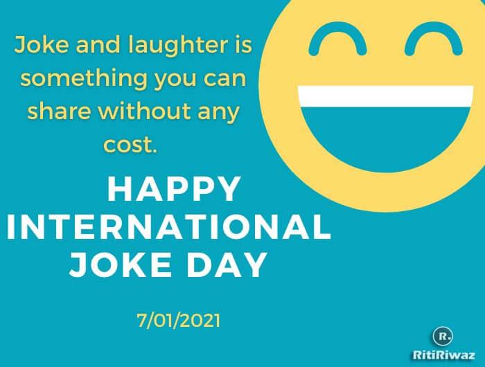 Joke day quote
