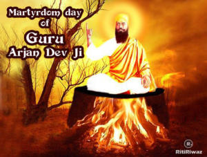 Martyrdom day of Guru Arjan Dev
