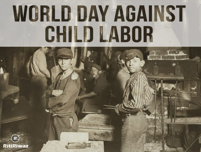 World Day Against Child Labor – 12th June