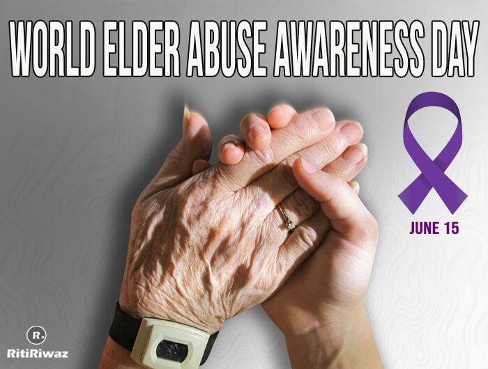 World elder abuse awareness day – June 15th