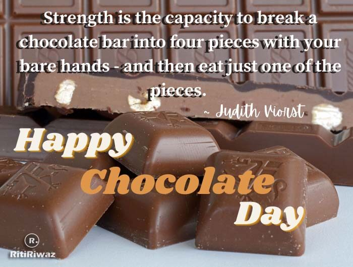chocolate day quote