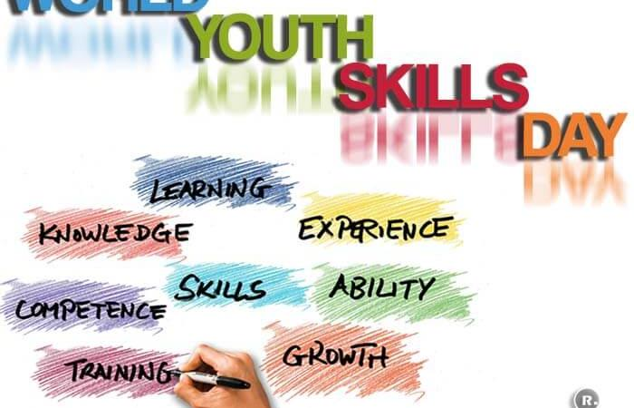 World Youth Skills Day – 15th July