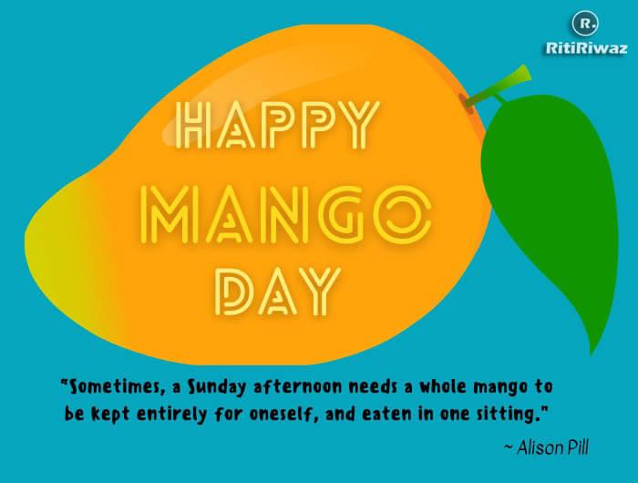 mango day quote