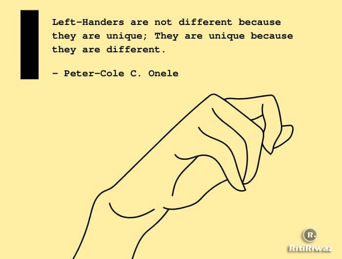 International Left-Handers' Day