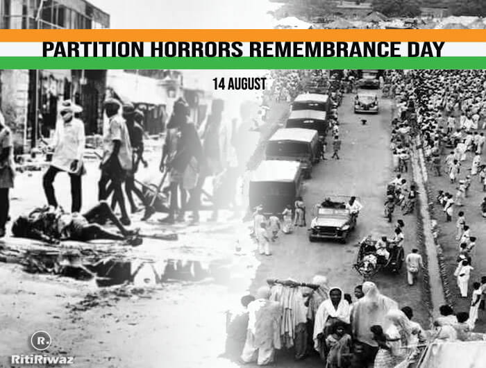 Partition Horrors Remembrance Day – 14 August
