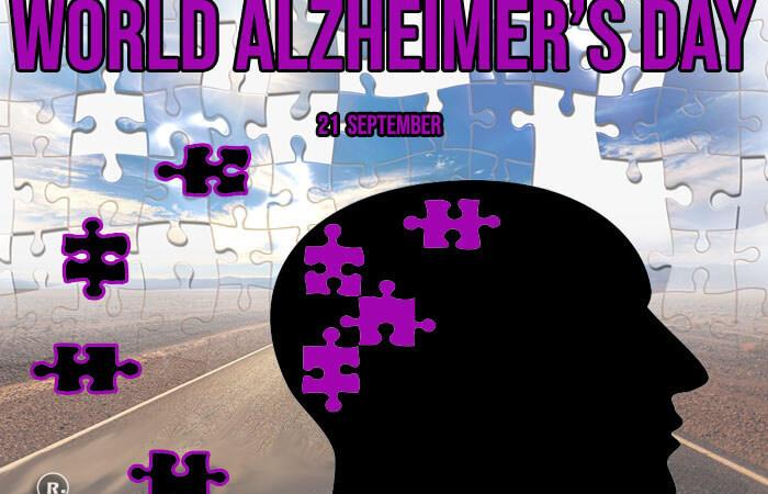 World Alzheimer's Day – 21 September