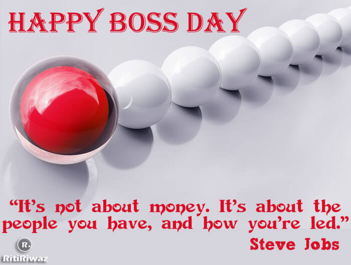Boss day quote
